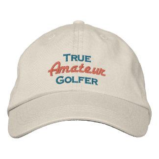 True Amateur Golfer Embroidered Hat