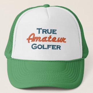 True Amateur Golfer Mesh Cap