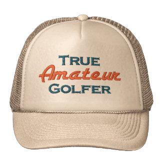 True Amateur Golfer Mesh Cap Mesh Hat
