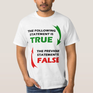 True and False Statements T-Shirt