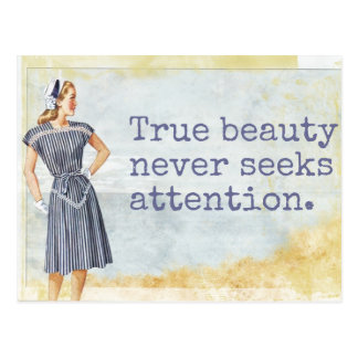 True Beauty - Postcard