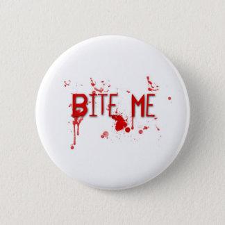 """True Blood """"Bite Me"""" 6 Cm Round Badge"""