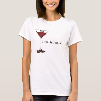 True-Blood.net Martini Glass Women's T-Shirt