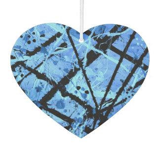 TRUE BLUE (an abstract art design) ~