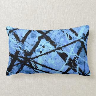 TRUE BLUE!  (an abstract art design) ~ Cushions