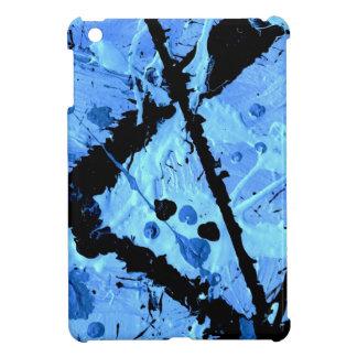 TRUE BLUE (an abstract art design) ~ iPad Mini Cover