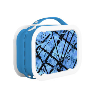 TRUE BLUE!  (an abstract art design) ~ Lunch Boxes