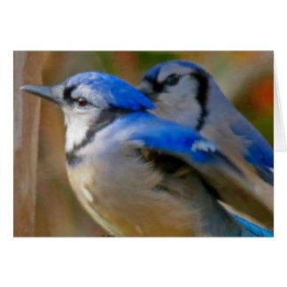 True Blue - Birds Card