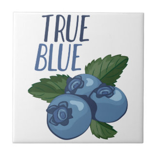 True Blue Ceramic Tile