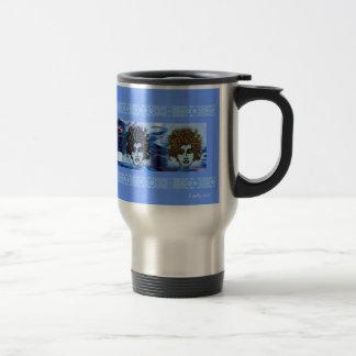 True Blue Jess Travel  Mug