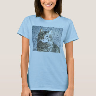 True-Blue Kitty T-Shirt