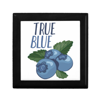 True Blue Small Square Gift Box