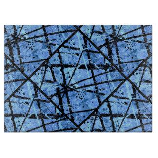 TRUE BLUE variant (an abstract art design) ~ Cutting Boards