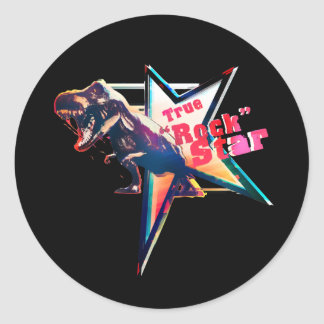 "True ""coat"" Star Classic Round Sticker"