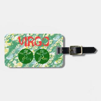 True Color: Virgo Zodiac Symbol Tags For Bags