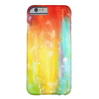True Colors Abstract Art Barely There iPhone 6 Case