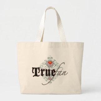 True Fan Large Tote Bag