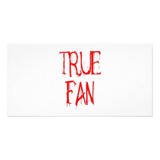 True Fan Photo Card