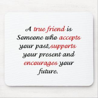 True Friends png Mouse Pad
