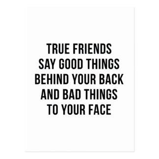 True Friends Postcard