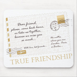 True Friendship Mouse Pad