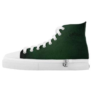 True Green Grunge High Tops