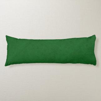 True Green Velvet Look Body Cushion