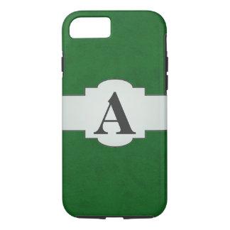 True Green Velvet Personalized Home Casino iPhone 7 Case