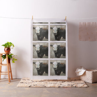 True Grit Cow fabric