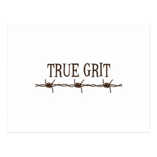 True Grit Postcard