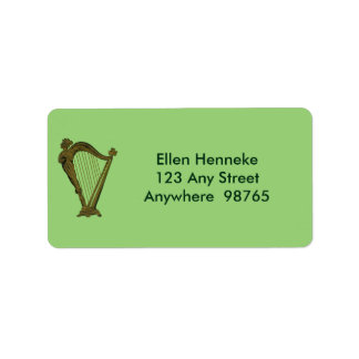 True Irish Hearts Address Label