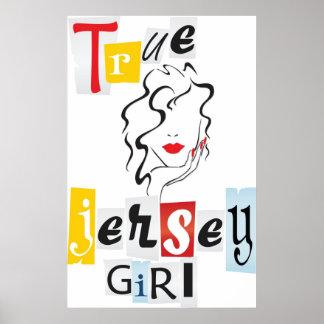 True Jersey Girl Poster