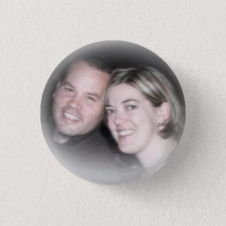 True love! 3 cm round badge