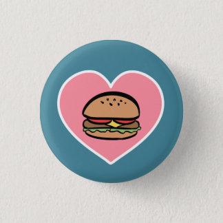 True Love 3 Cm Round Badge