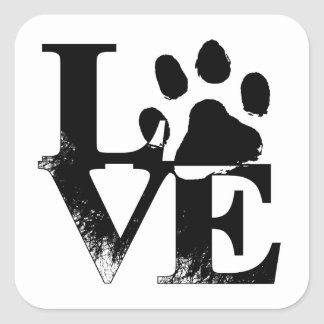 True Love Animal Rescue Stickers