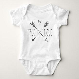 True Love Baby Baby Bodysuit