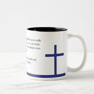True Love (blue) Mug