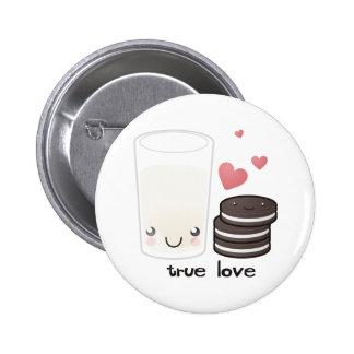 True Love Buttom 6 Cm Round Badge