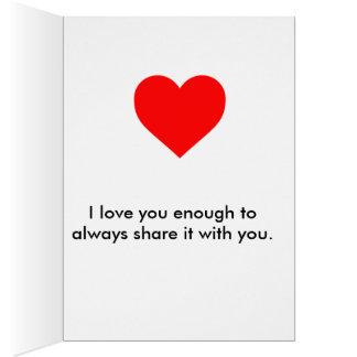 True Love! Card