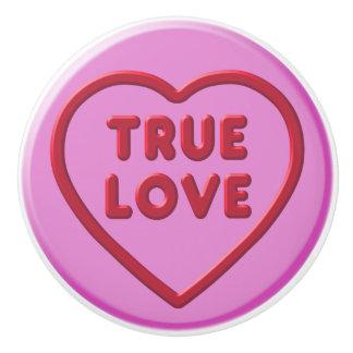 True Love Ceramic Knob