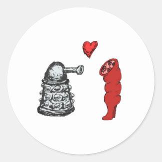 True Love Classic Round Sticker