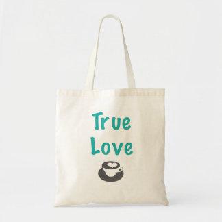 True love coffee tote