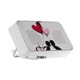 True Love Doodle Custom Speaker
