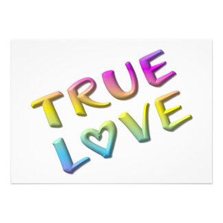 True Love Personalized Announcement