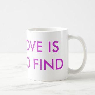 TRUE LOVE IS HARD TO FIND MUGS