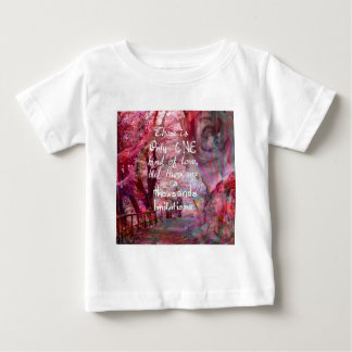 True love is not easy to find it baby T-Shirt