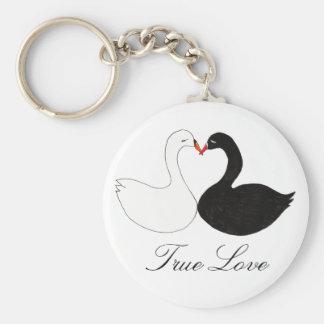 True Love Key Ring
