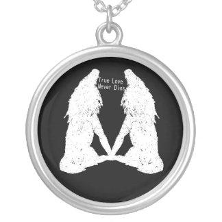 True Love Never Dies: Vampire & Werewolf Necklace