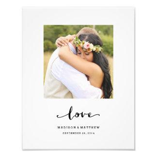 True Love | Personalized Wedding Print