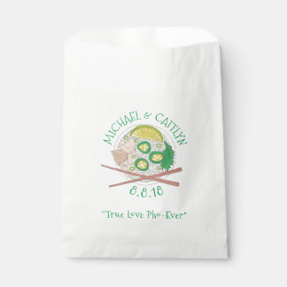 True Love Pho-Ever Vietnamese Soup Wedding Foodie Favour Bag